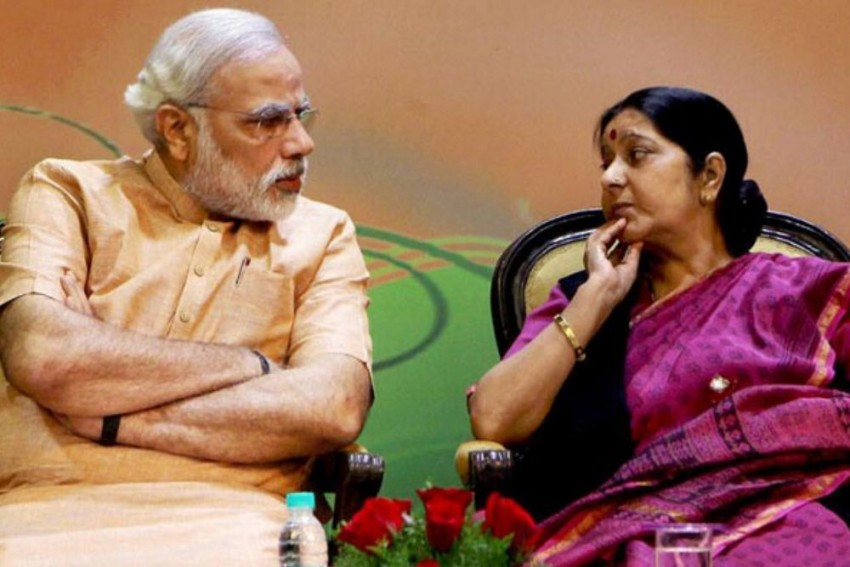 'A Glorious Chapter in Indian Politics Comes to An End': PM Modi Mourns Sushma Swaraj's Death