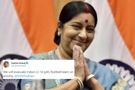 When Sushma Swaraj Rescued Indian Girls From An Earthquake-Ravaged Land