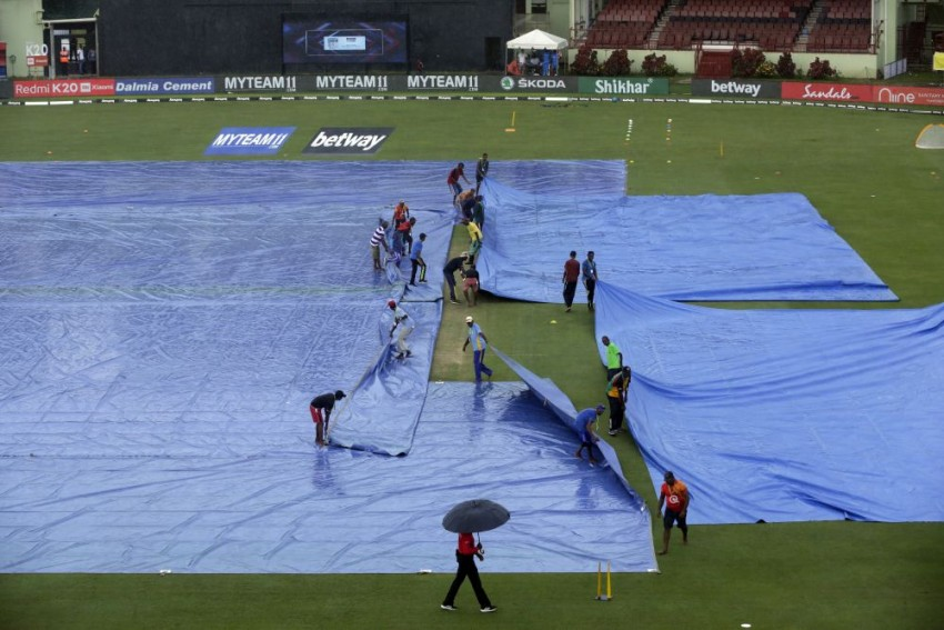 West Indies-India First ODI In Guyana Abandoned Due To Rain And Wet Outfield