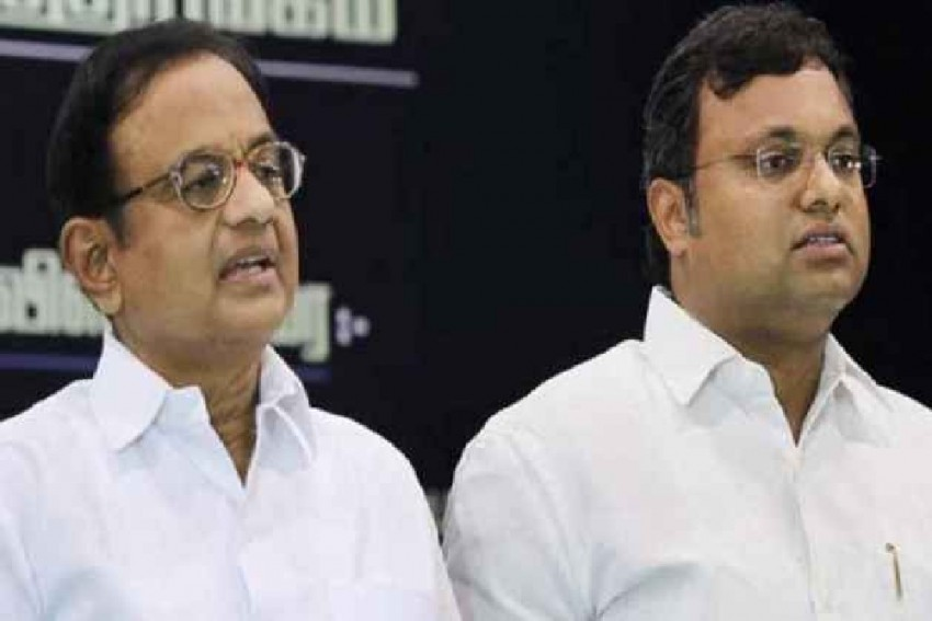 Delhi Court Extends Protection From Arrest To Chidambaram, Karti Till August 23 In Aircel-Maxis Case
