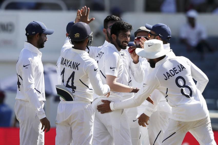 WI Vs IND, 2nd Test, Day 2 Highlights: Jasprit Bumrah's Six, Hanuma Vihari Ton Flatten West Indies; India Lead By 329 Runs
