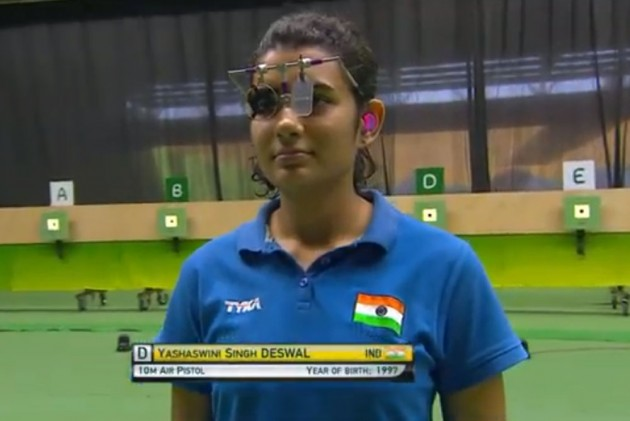 ISSF World Cup: Yashaswini Singh Deswal Shoots Gold, Secures 9th Tokyo Olympics Quota For India