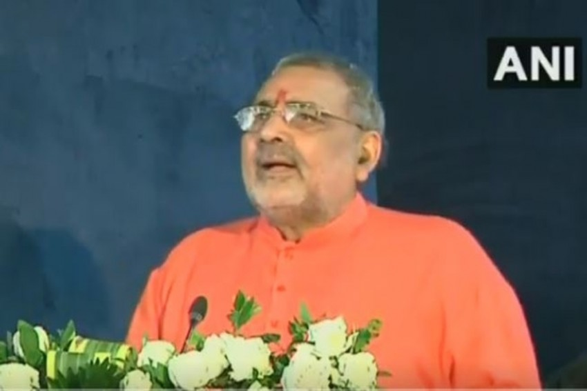 'Soon, Only Female Calves Will Be Born': BJP MP Giriraj Singh Pushes Sex-Sorted Semen Tech For Cows