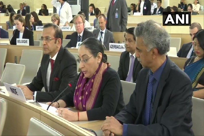False Allegations, Concocted Charges: India Responds To Pakistan Over Kashmir At UN Rights Body