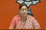 'No Indian Will Be Left Out': Smriti Irani Slams Mamata Banerjee Over NRC