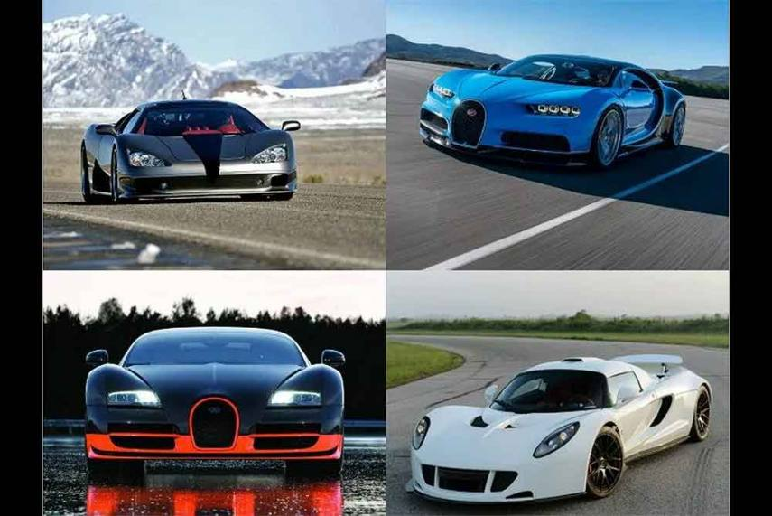 What Is The Fastest Production Car In The World >> Top 5 Fastest Production Cars In The World