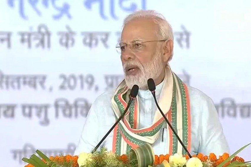 Some People Get Electric Shock On Hearing 'Cow, Om': PM Modi In Mathura