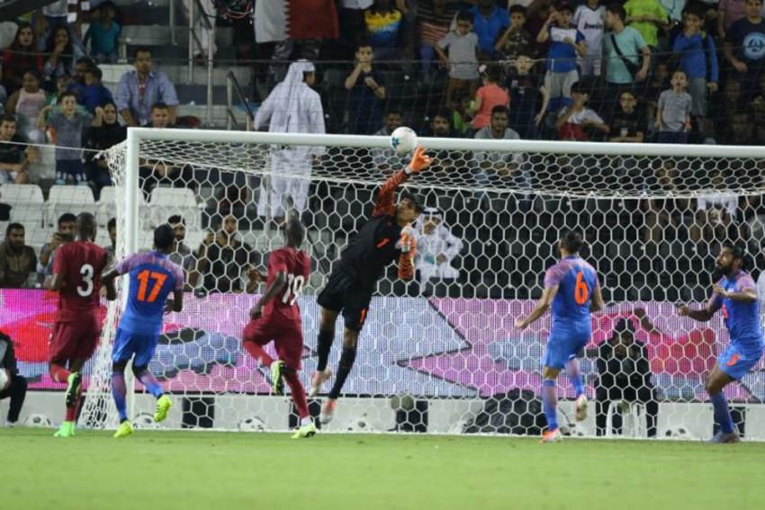 Gurpreet Singh Sandhu Leads India To Gritty Draw Vs Qatar In 2022 FIFA World Cup Qualifier