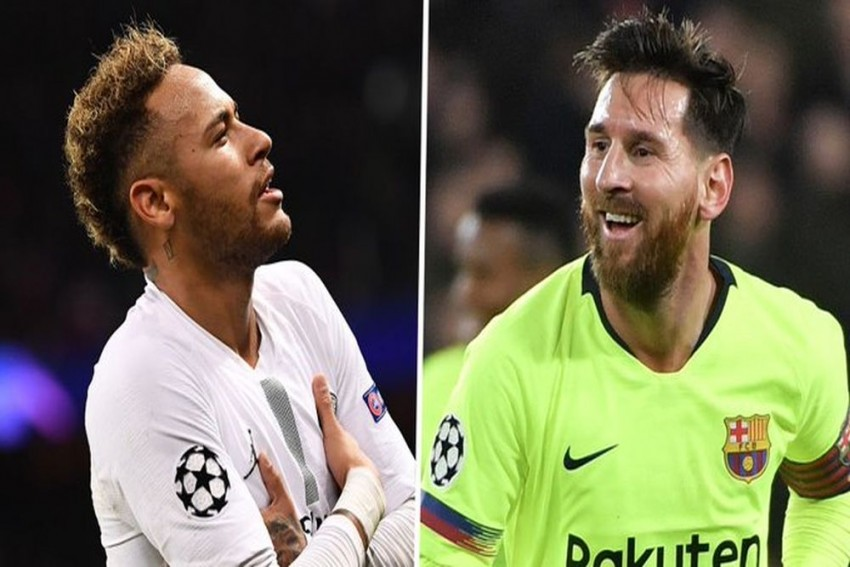 Lionel Messi Would Be 'Thrilled' If Neymar Returns To Barcelona