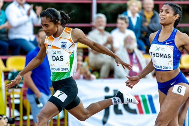Hima Das Missing From Athletics Federation Of India's Initial World Championships Entry Submitted To IAAF