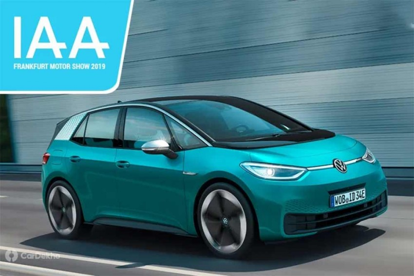 Volkswagen Reveals ID.3, An All-electric Production Vehicle, At Frankfurt