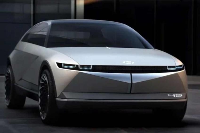 The Hyundai 45 EV Is Retro Yet Futuristic At The Same Time