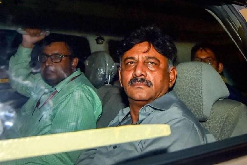 Delhi Court Extends Congress Leader D K Shivakumar's ED Custody Till September 17