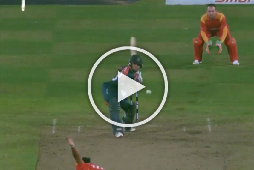 Tri-Series, 1st T20I: Bangladesh Squeeze Home Against Zimbabwe In Opener - Video