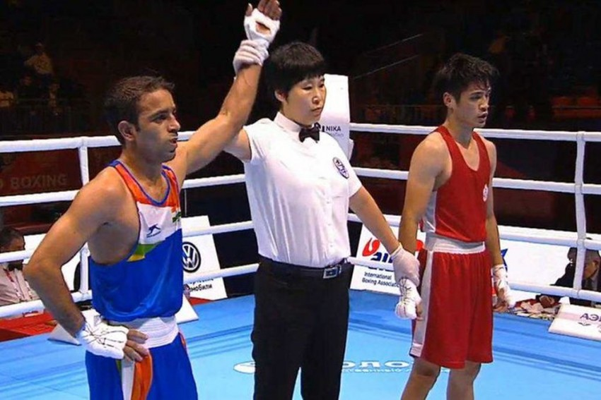 World Boxing Championships: India's Amit Panghal Advances To Pre-Quarters With Easy Win