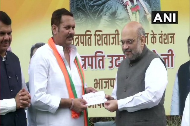 NCP MP, Chhatrapati Shivaji's Descendant Udayanraje Bhosale Joins BJP