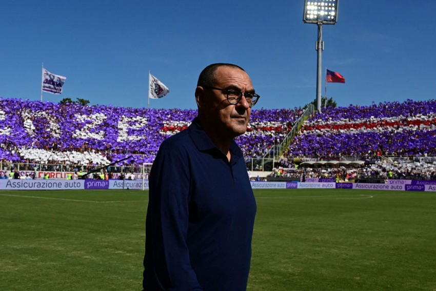 Serie A: Fiorentina 0-0 Juventus: Maurizio Sarri Watches On As Champions Drop First Points