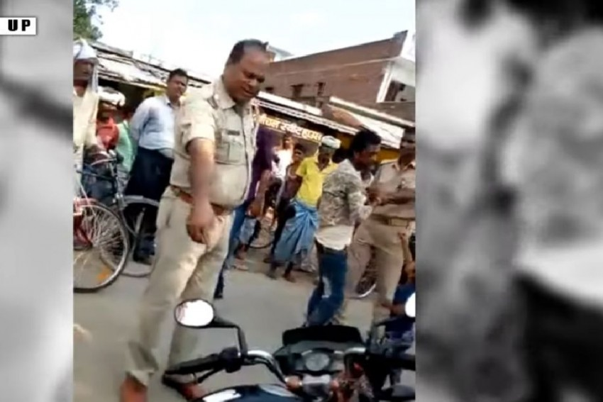 FIR Lodged Against Suspended Cops, Who Thrashed Man For Failing To Produce Papers