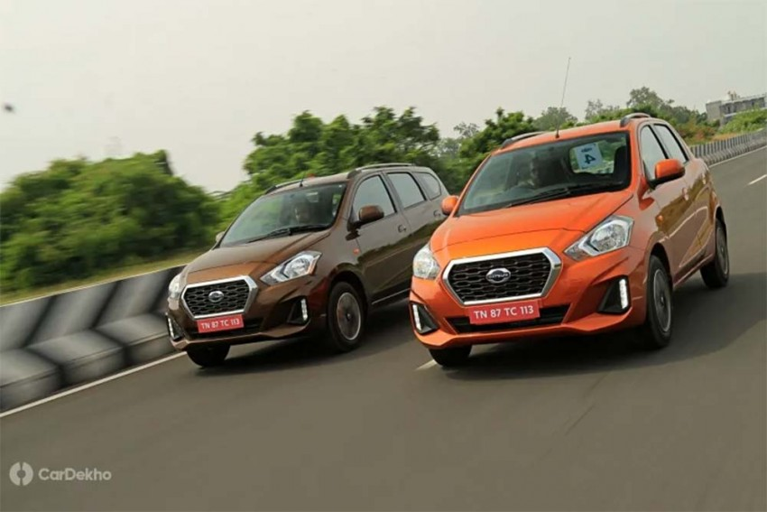 Automatic Datsun GO, GO+ Variants To be Introduced In October 2019
