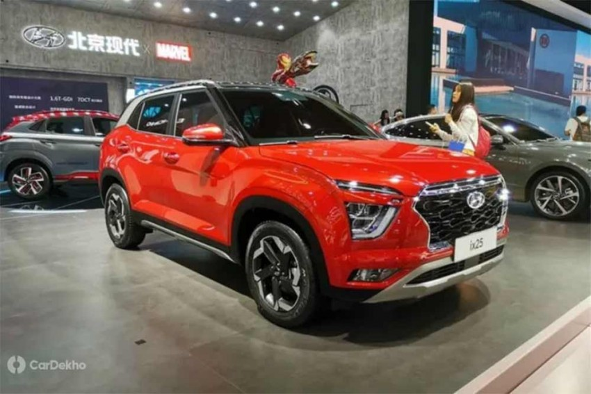 This Hyundai ix25 (China-spec Creta) Features A Kia Seltos-like Cabin