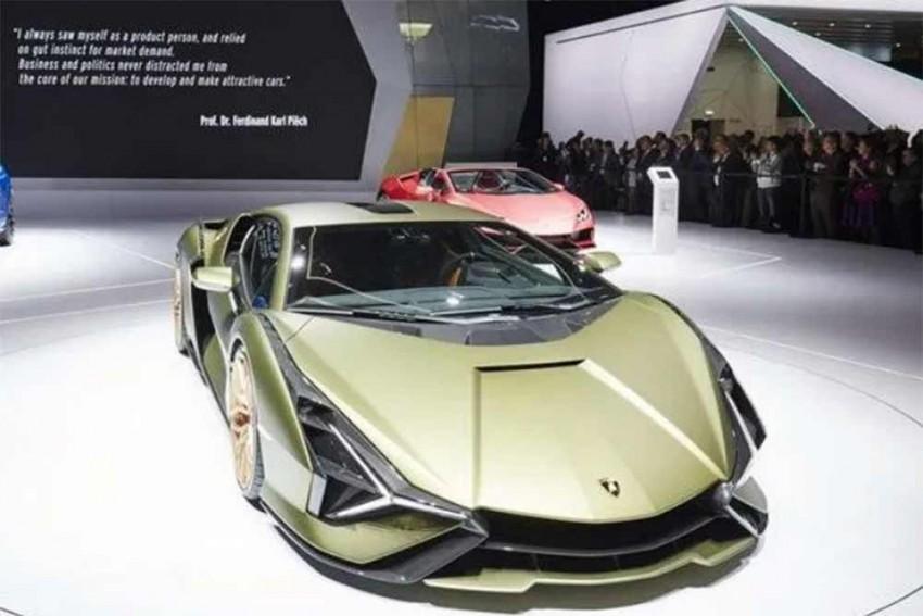 Lamborghini Sian: The New Raging Bull In Detailed Images