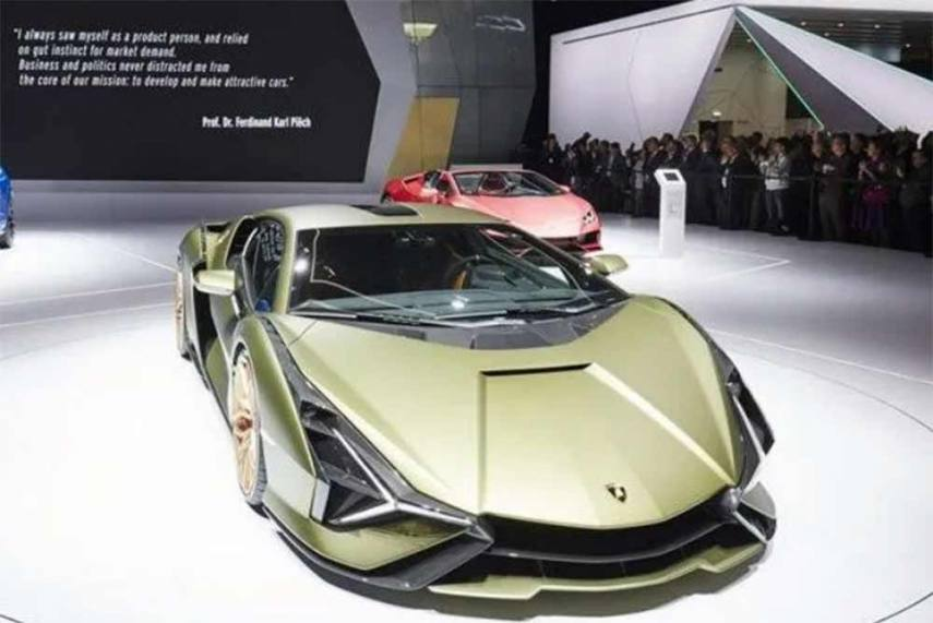 Lamborghini Sian The New Raging Bull In Detailed Images