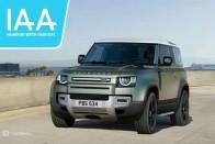 2020 Land Rover Defender Breaks Cover At Frankfurt Motor Show