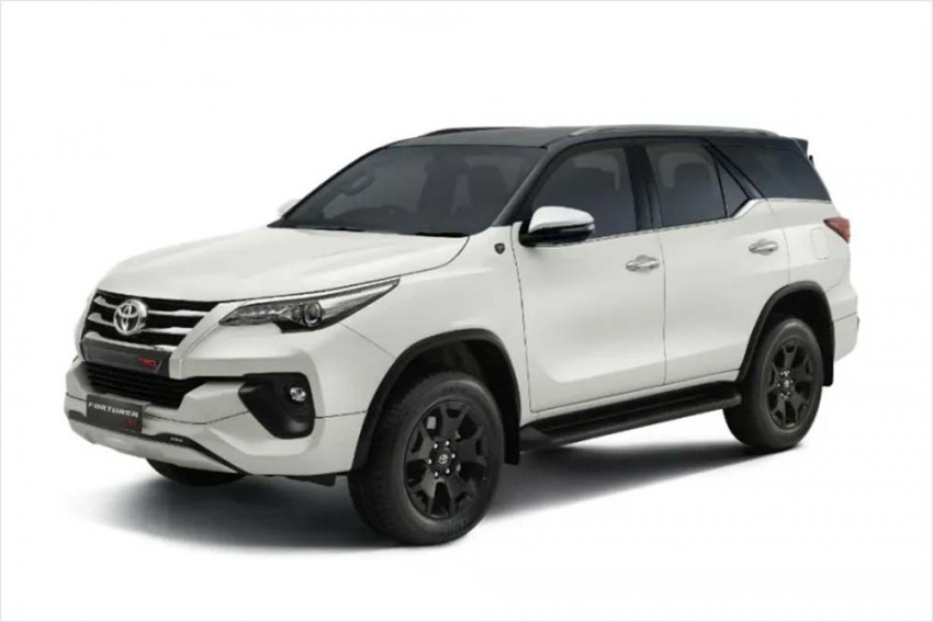 Toyota Fortuner Gets A Sporty Makeover For Its 10th Anniversary