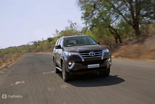 Toyota Innova Crysta, Fortuner Diesel Could Get Pricier By Upto Rs 5 Lakh In BS6 Era