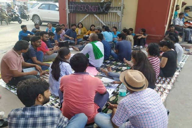 BHU Students Protest Reinstatement Of Professor Accused Of Body-shaming Girls