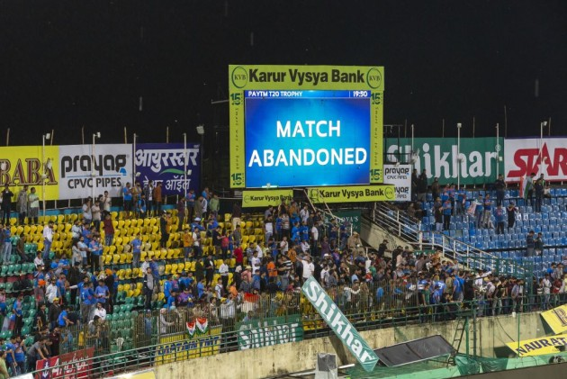 India v South Africa, 1st T20: Heavy Rain Leads To A Washout In Dharamsala