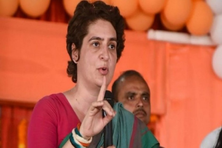 Priyanka Gandhi Hits Back After MoS Claims North Indians Lack Quality, Not Job Opportunity
