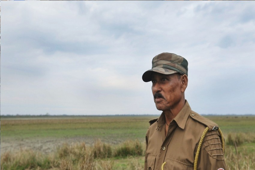 In Kaziranga, Forest Guard Shantiram Chhetri Stands Between Poacher's Bullets And Rhinos