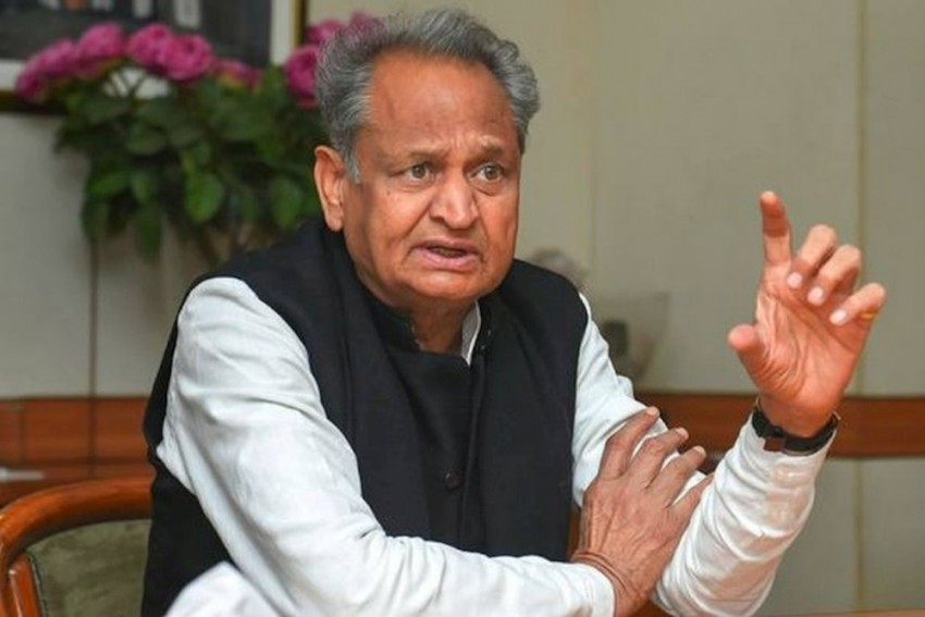 Rajasthan: CM Ashok Gehlot Conducts Aerial Survey Of Flood-Hit Areas In The State