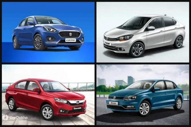 Maruti Dzire and Honda Amaze Readily Available In Most Cities While Ford Aspire Buyers Endure Longest Waiting Period This September
