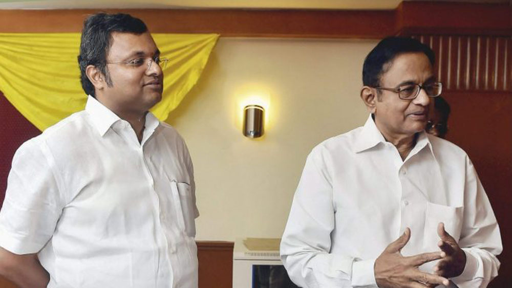 'No 56 Can Stop You': Karti Takes A Dig At PM Modi As He Wishes Chidambaram On Birthday