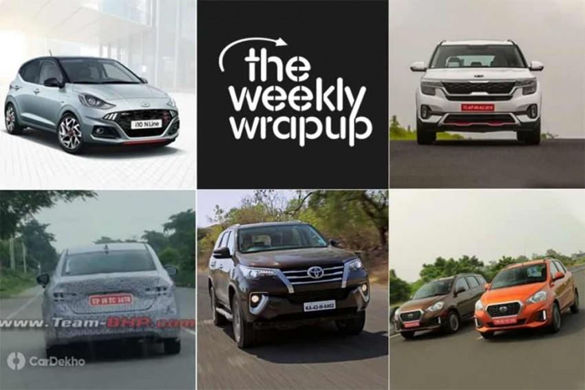Top 5 Car News Of The Week: Kia Seltos, Hyundai i10 N Line & More!