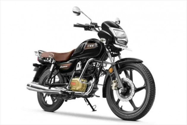 TVS' 110cc Radeon Now Comes With A Disc Brake