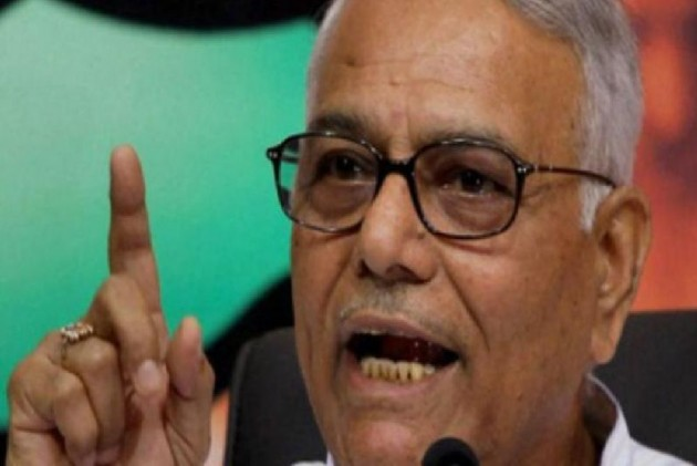 Two Orders And A 'Request', But Yashwant Sinha Refuses To Leave Srinagar Airport