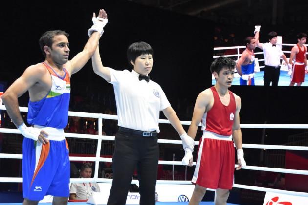 World Boxing Championships: Amit Panghal, Manish Kaushik Enter Quarterfinals
