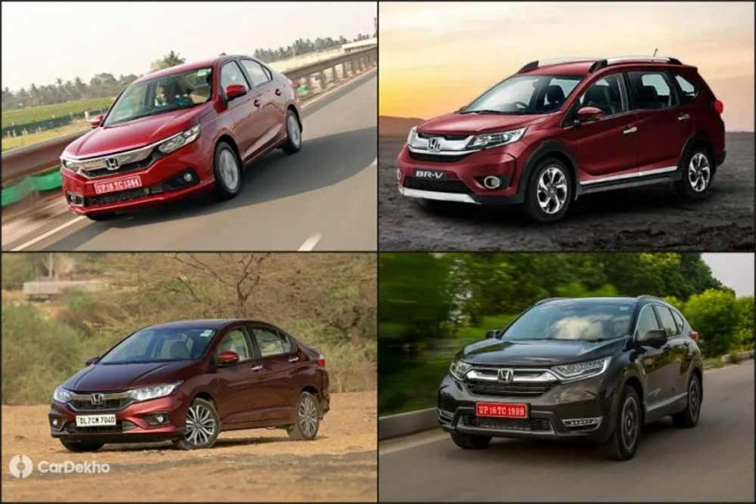 Honda Discounts In September; Rs 4 Lakh Off On CR-V