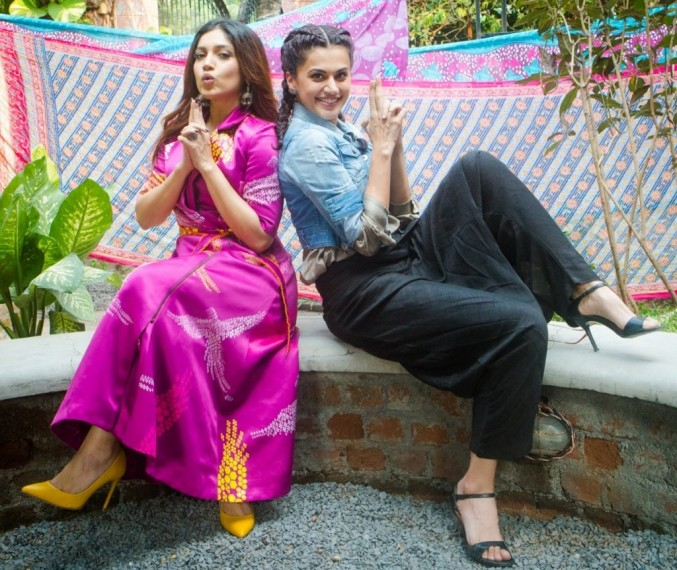 Taapsee Pannu  And Bhumi Pednekar Define The Tandem Spirit In Their Twitter Conversation