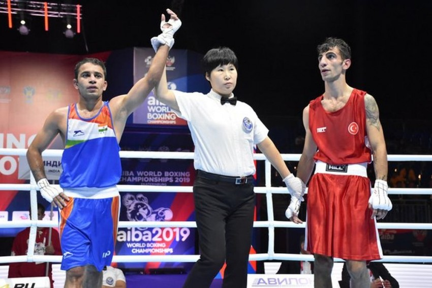 World Boxing Championships: Amit Panghal, Manish Kaushik Enter Semis, Assured Of Unprecedented Medals