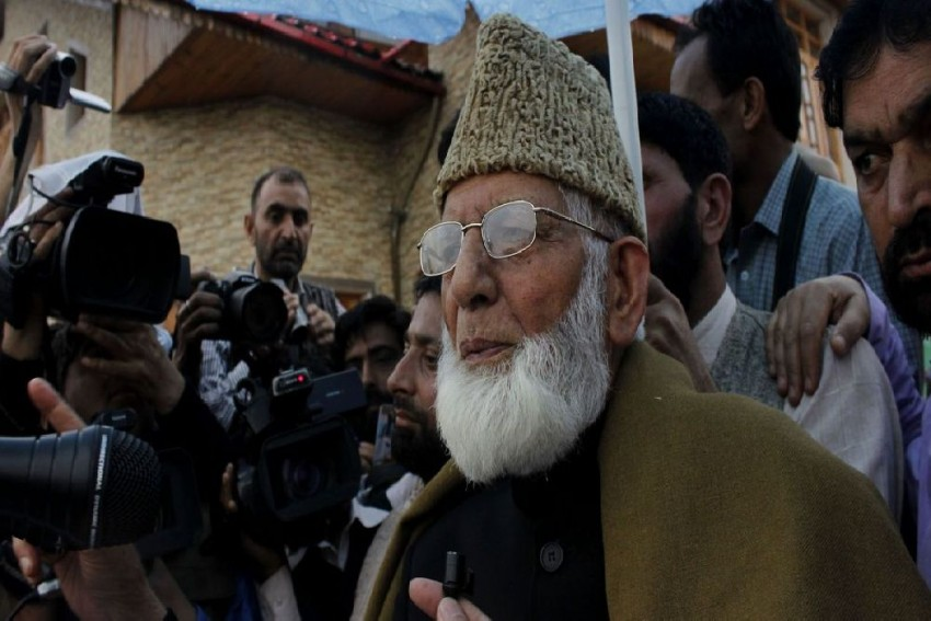 Amid Internet Shutdown, Separatist Leader Geelani's Email To Journalists Raises Eyebrows, Police To Order Probe