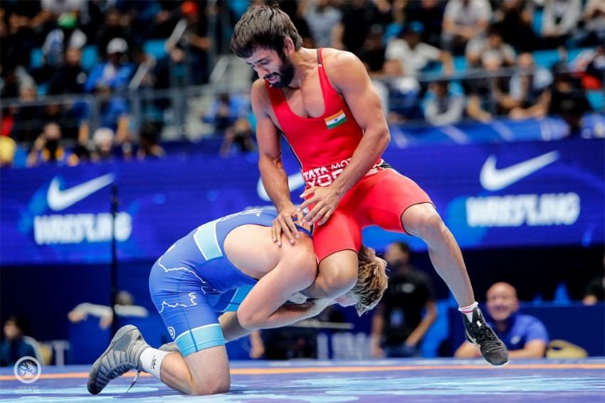 World Wrestling Championships: Bajrang Punia Loses Semi-Final In Controversial Manner, Ravi Dahiya Comes Short Against Reigning Champion