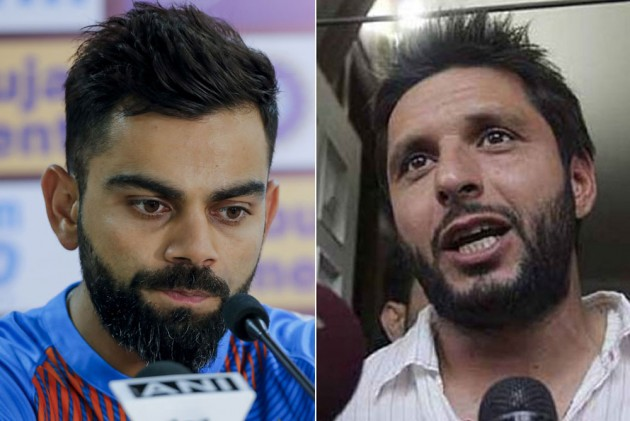 India Vs South Africa, 2nd T20I: Ex-Pakistan Captain Shahid Afridi Requests 'Great' Virat Kohli To Keep Entertaining Fans