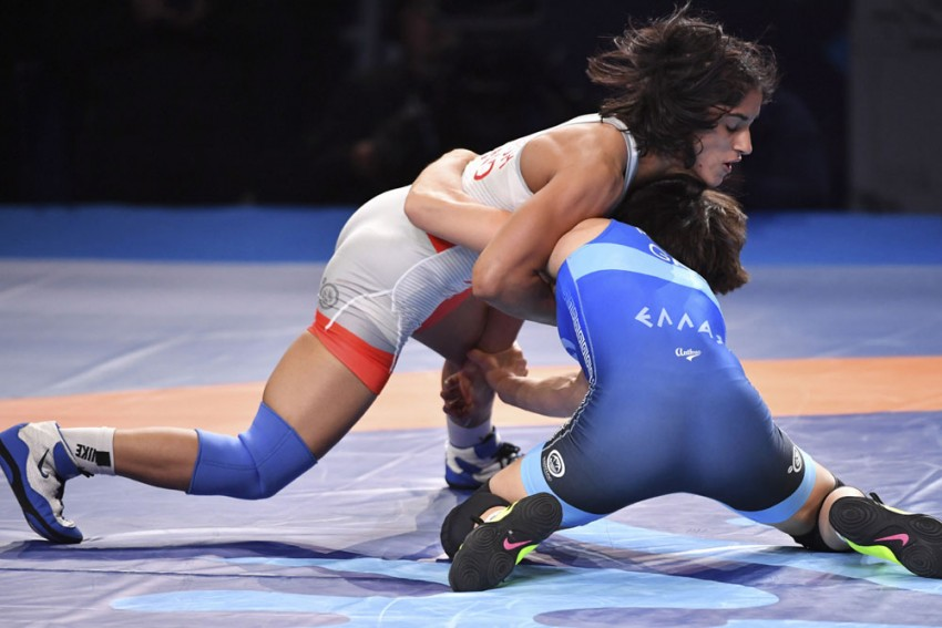 World Championships 2019: Vinesh Phogat's Balance Is Like A Gyroscope, Says India's Foreign Wrestling Coach Andrew Cook