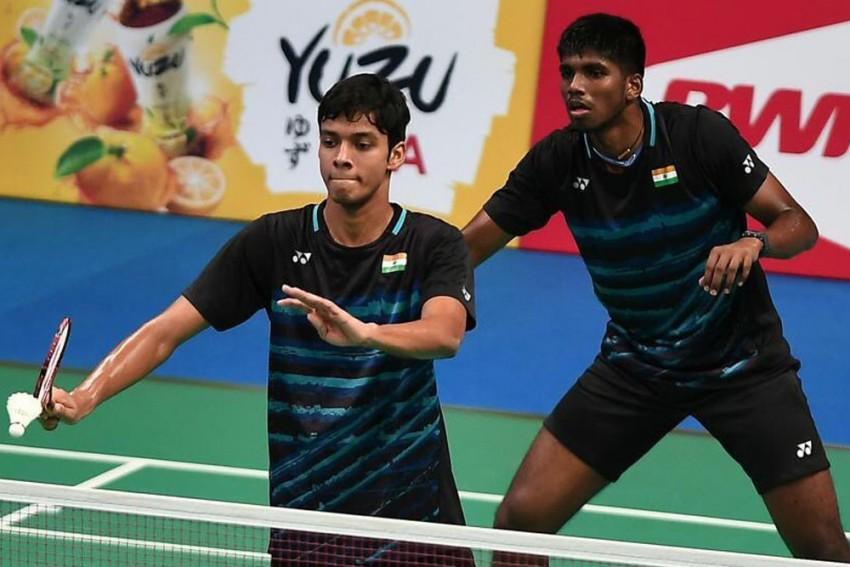 Satwiksairaj Rankireddy-Chirag Shetty Pair Bow Out Of China Open
