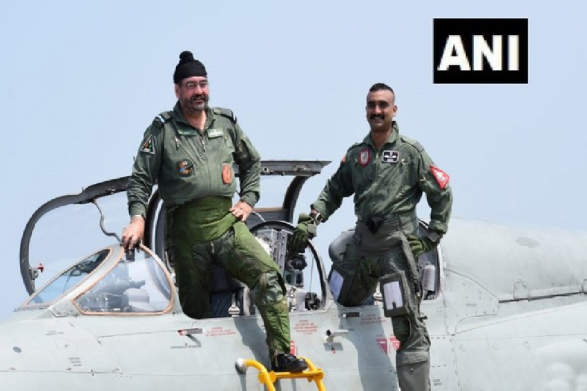 IAF Chief Says He Is 'Honoured' To Fly Last Sortie With Wing Commander Abhinandan Varthaman