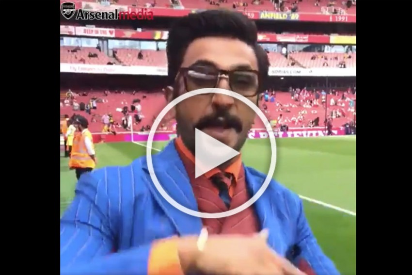 WATCH: 'Dancing' Ranveer Singh Shows Up For North London Derby; Arsenal Shares Bollywood Star's Viral Video
